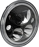 Vision X 9895291 7' Round Vortex LED Headlight with Low-High Halo