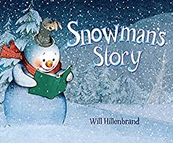 image of the book snowman's story