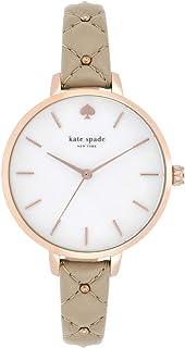 Kate Spade New York Women's Metro Slim Stainless Steel Quartz Watch