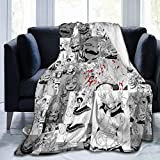 Magicuas Himiko Toga Blanket Sherpa Throw Blanket Flannel Fleece Couch Quilted Blankets for Kids Adults for Thanksgiving Halloween 80'x60'