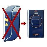 Télécommande FAAC XT2 433 SL XT2433SL - Pour une porte de garage - Remplace la télécommande TML2 433 SLR 433 Mhz TML433SLR