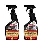Chick Fresh - Odor Control Spray for Backyard Chickens. Eliminate Chicken Coop, Brooder, Nest Boxes, Hen Houses, Rabbit Hutches Odor & More! 24 oz Spray Bottle (2 Pack)