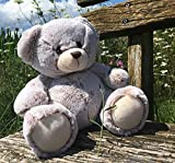 Uni-Toys - Teddy superweich (hellbraun) - 24 cm (Höhe) - Teddybär - Plüschtier, Kuscheltier, TE-00201