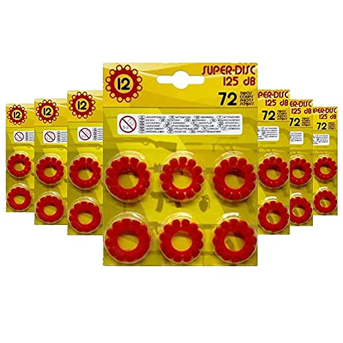 8u21206 - Fulminantes Aros De 12 Tiros, Fulminantes 12 Tiros para Pistolas de Juguete (Pack x504)