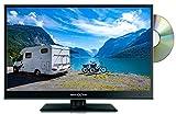 Reflexion LDD1671 - Televisor LED de 39 cm (15,6', Reproductor de DVD, sintonizador Triple-y Adaptador de Coche de 12 V, HDMI, DVB-S/S2/C/T2, USB, EPG, Ci+, Antena DVB-T), Color Negro