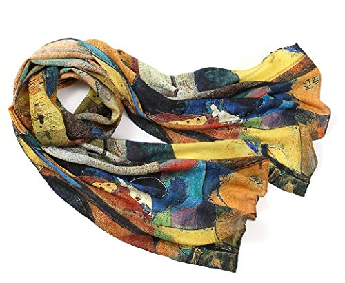 Prettystern zijden sjaal kunstwerk schilderij Wassily Kandinsky