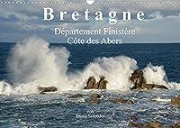 Bretagne. Département Finistère - Côte des Abers (Wandkalender 2022 DIN A3 quer): Bilder, 64km entlang der Côte des Abers (Monatskalender, 14 Seiten )