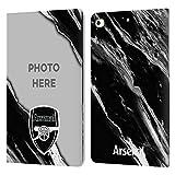 Head Case Designs Officially Licensed Custom Customised Personalised Arsenal FC Mármol Fotos Personalizadas Carcasa de Cuero Tipo Libro Compatible con Apple iPad Mini (2019)