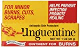 Unguentine Antiseptic Ointment for Burns, Cuts & Scrapes, 1 Ounce