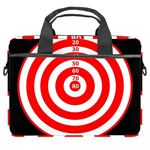 imobaby Dart Board with Score Laptop Messenger Shoulder Bag Notebook Sleeve Carrying Briefcase Handbag 15-15.4 inches