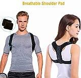 DOSMUNG Haltungskorrektur, Geradehalter zur Haltungskorrektur | Körperhaltung-Korrektor Rückenstütze, Sports Haltungstrainer Rücken Schulter für Damen und Herren Größenverstellbar -