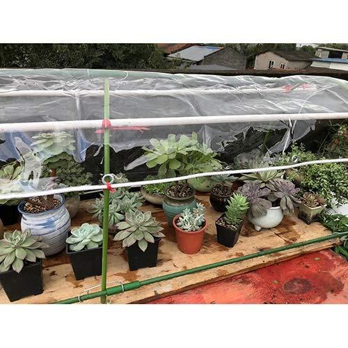 LSXIAO Tarea Pesada Impermeable Lona Cubrir, Hoja De Plástico Transparente, Anti Estático Resistencia Al Envejecimiento Utilizado En Jardines, Áreas Al Aire Libre, Campamentos