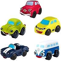 Motor Town Pack 5 vehículos blanditos para bebés, 2 surtidos (Colorbaby 43172)