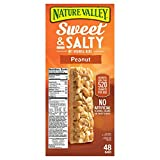 Nature's Valley Sweet and Salty Granola Bars Peanut dipped in Peanut Butter Coating, 59.2-Ounce