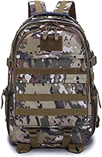 Outdoor Plus Camo Backpack with USB Charging Port and Laptop Compartment for Men Teen Boy School
