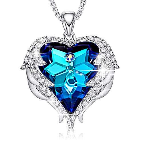 CDE Colliers Bijoux pour Femme Collier 18 carats plaqu or...