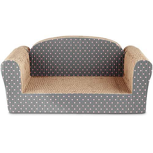 "You & Me Couch Cardboard Cat Scratcher, 11"", 19.75 in, Assorted"