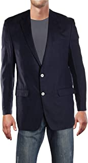 Mens Linen Two-Button Sportcoat