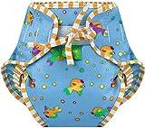 Product Image of the Kushies Swim Diaper, Goldfish Print, Large
