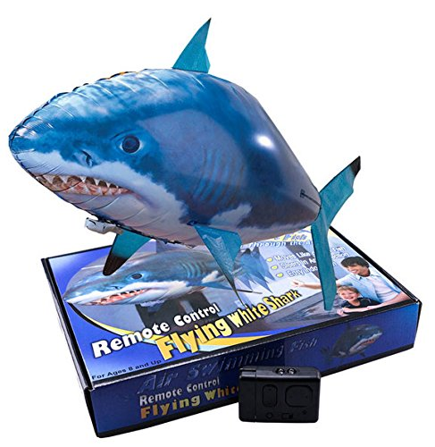 RC flying shark - fliegender Hai