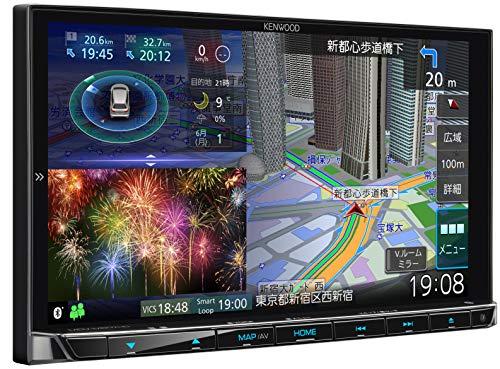 ケンウッド カーナビ 彩速ナビ  7型 MDV-M807HD 専用ドラレコ連携 無料地図更新/フルセグ/Bluetooth/Wi-Fi/...