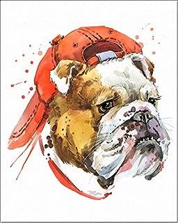 7Dots Art Dogs. Watercolor Art Print, poster 8