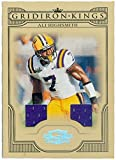 Ali Highsmith player worn jersey patch football card (LSU Tigers College) 2008 Donruss Gridiron Kings #CGK1 Limited 46 of 250