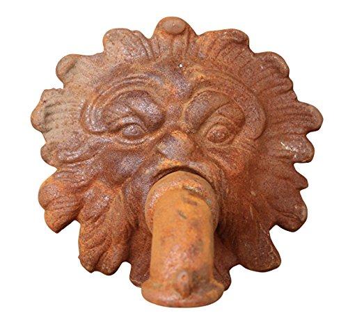 Fuente surtidor Fuente Iron Lion Estilo Antiguo Gárgola Jardín