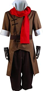 Avatar The Legend of Korra Mako Cosplay Halloween Costume