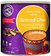 Big Train Spiced Chai Tea Latte, 1.9 Lb (1 Count), Powdered Instant Chai Tea Latte Mix, Spiced Black Tea with Milk, For Home, Café, Coffee Shop, Restaurant Use