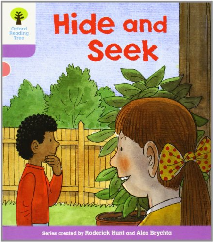 Oxford Reading Tree: Level 1+: First Sentences: Hide and Seekの詳細を見る