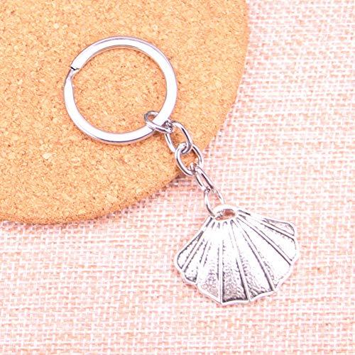 TAOZIAA schelp Charm Hanger Sleutelhanger Sleutelhanger Ring Ketting Accessoires Sieraden Maken Voor Geschenken