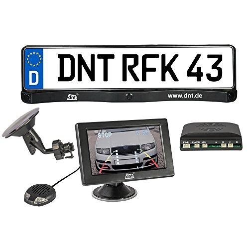 dnt 52171 RFK Integro Rückfahrkamera-System mit 10,9 cm (4,3 Zoll) Farbmonitor schwarz