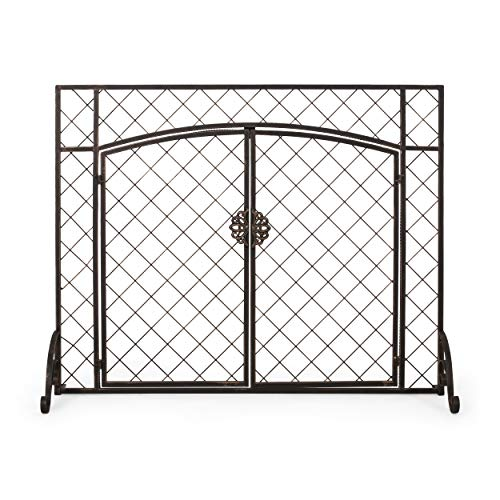Why Should You Buy Christopher Knight Home Kristin Iron Fireplace Screen