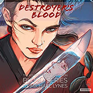 Destroyer's Blood     The Blood Series, Book 1              By:                                                                                                                                 Michael Lynes                               Narrated by:                                                                                                                                 David Bosco                      Length: 12 hrs and 19 mins     14 ratings     Overall 4.4