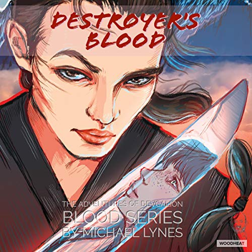 Destroyer's Blood audiobook cover art