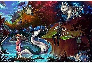 WYF's Puzzle Rompecabezas 500/1000/1500 Piezas Mi Vecino Totoro Dibujos Animados japoneses Anime Puzzle Educación temprana Niños Puzzle Juguetes para niños (8 años en adelante) P7020
