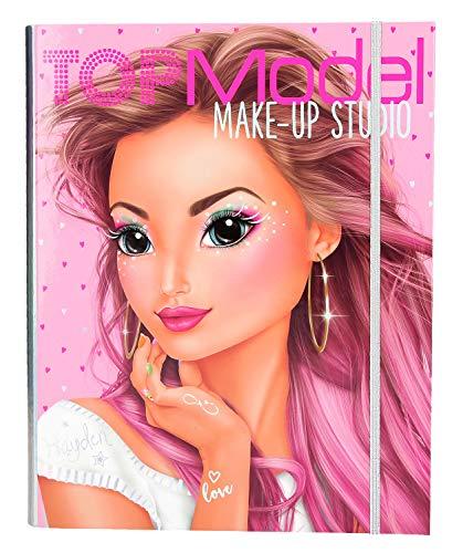 Depesche- Make Up Creative Mappe TopModel - Estuche para Maquillaje, Color carbón (10165)