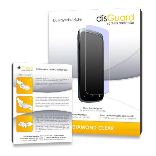 disGuard 3 x Schutzfolie Cyrus CM1 Bildschirmschutz Folie DiamondClear unsichtbar