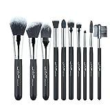 Fenghezhanouzhou Fashionable 10 Piezas Cosmetic Makeup Brush Set Profesional Soft Taklon Fiber Make Up cepillos Tool Kit J10NNS