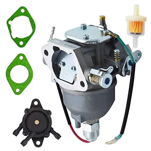 Carburetor Fuel Filter Gasket with Fuel Pump Replacement for Kohler CV18S CV20S CV22S CV725 Command Engine Carb 24 853 25-S 24 853 19-S 24 053 08-S 24 053 50-S 24 853 50-S