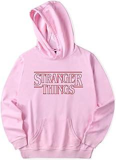 Sudadera Stranger Things Mujer, Sudadera con Capucha Stranger Things Niña, Unisex Hombres Chicas Sudadera Impresión Street...