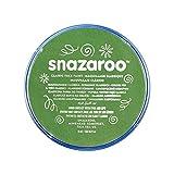 Snazaroo- Pintura facial y Corporal, 18 ml, Color verde hier