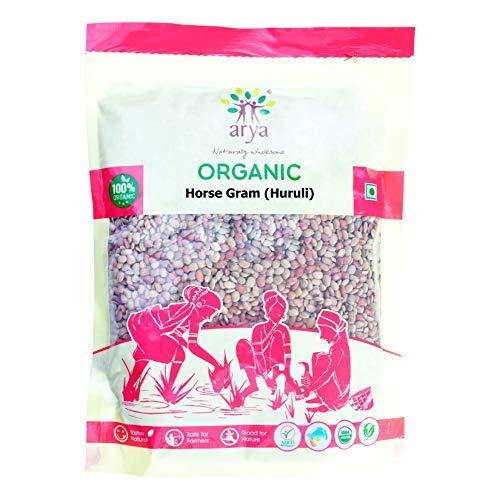 Arya Farm Arya Farm Certified Organic Horse Gram ( Kulthi ) 1.5 Kgs ( Whole Seeds / No Chemicals / No Pesticides / No Preservatives / No Artificial Colour ), 3 X 1500 g