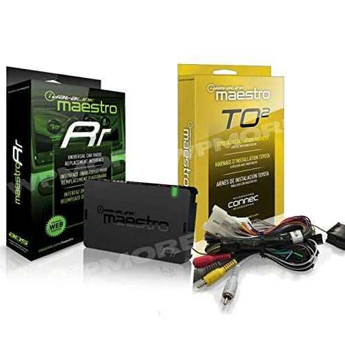 iDatalink Maestro ADS-MRR + HRN-RR-TO2 T Harness for Select Toyota 2012 & UP