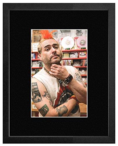 Stick It On Your Wall Mini-Poster, gerahmt, Motiv NOFX, 40 x 31 cm