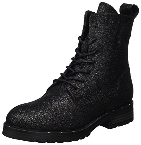 Mjus Damen 190201-0701-6357 Combat Boots, Blau (Space), 40 EU
