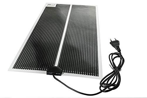 NBWS verwarmingsmat, kamerhuisvesting, verwarmingsmat, ultradun voor terrarium, met 150 cm stroomtoevoer, met EU-stekker, 230 V