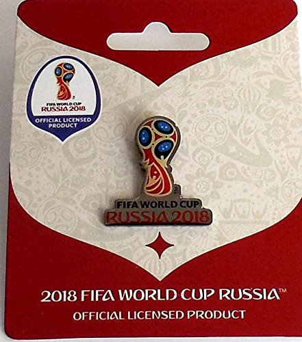 FIFA WK 2018 Pin logo beker zilver World Cup Pins