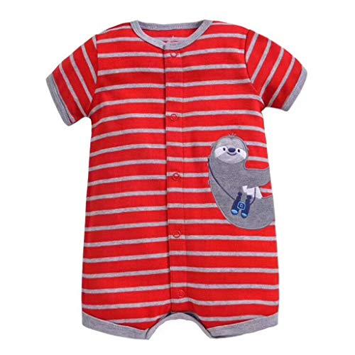 Cuteelf Neugeborene Baby Jungen Mädchen Kleider Set, Entzückende Spielanzug Set 2Pcs Outfit Süße Herz Print